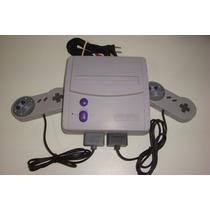 Super Nintendo Baby + 2 Controles Novos + Garantia!!!!!!!!!
