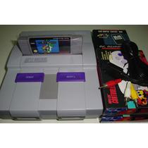 Super Nintendo Com Super Mario World + Brinde
