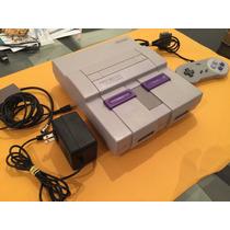 Super Nintendo Completo (1 Controle E Mario World)