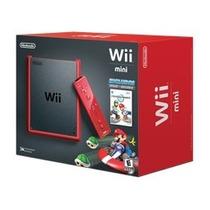 Nintendo Wii Mini Red/vermelho Edição Limitada + Mario Kart