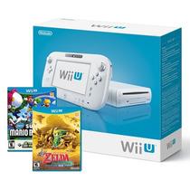 Nintendo Wii U Basic Set + 2 Jogos Original E-sedex 6,07