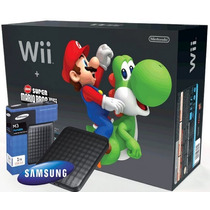 12 X Sem Juros Nintendo Wii Nacional + Hd 1tb + 350 Jogos
