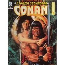 Lote De A Espada Selvagem De Conan - N° 42-49-57-61-67-70-71