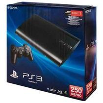 Playstation 3 Super Slim 250gb Hdmi Blu-ray 3d Bivolt + Nfe