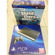 Sony Ps3 + Controle Extra + 5 Jogos