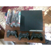 Ps3 + 8 Games + 3 Dualshook