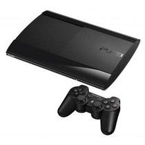 Playstation 3 Super Slim 500gb Blu-ray 3d Cabo Hdmi Brinde