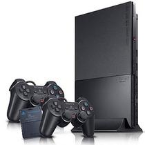 Playstation 2 Slim Desbloqueado Completo+2controles+2jogos