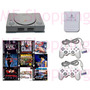 Playstation 1 Ps1 Fat 2 Controles 1 Memory Card 5 Jogos