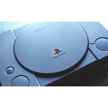 Playstation 1 Fat Ps1 +2controles+fonte+cabo Av+2 Jogos