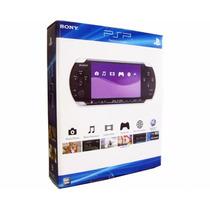 Sony Psp Slim 3001 Bivolt Com 32gb De Memória E 200 Brindes