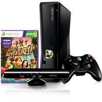 Console Xbox 360 250gb Knect + 2 Jogos + Controle Sem Fio