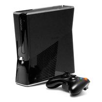 Xbox360 4gb+1 Controles+3.0+jtag+10 Jogos Na Caixa