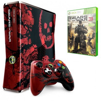 Xbox 360 Edition Limited Gears Of War 3 Novo + Jogo
