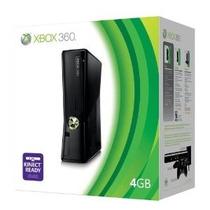 Xbox 360 Super Slim 4gb Jogue Live Produto Pronta Entrega Sp