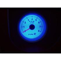 Conta Giros Type R 7705 Acende Neon Azul Lançamento Curitiba