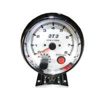 Contagiro 93mm 3 3/4 Reg Manual + Shift Light Interno Novo