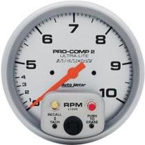 Conta Giro Autometer Prata Procomp 2 Ultra-lite 4499 Memory