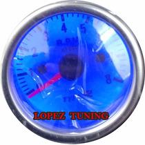 Manômetro Pressão De Oleo Relógio 52 Mm Smoke Frete Gratis