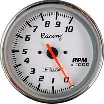 Contagiros 85mm Willtec Top Rpm Tacômetro C/ Led Neon