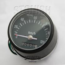 Velocimetro Universal Pequeno Vintage Bobber - Cafe Racer