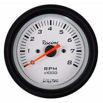 Tacômetro Contagiros Willtec Fusca 85mm Rpm 4cc Buggy Painel