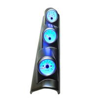 Coluna Rpm Prata + Voltimetro + Temp Água Typer Universal