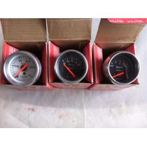 Kit Willtec Manometro Combustivel, Voltimetro E Amperimetro