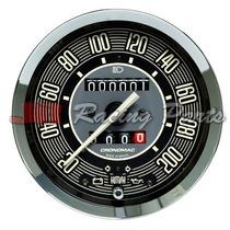 Velocímetro Cronomac Fusca 100mm Com Hodometro Volks Line