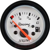Indicador Combustível 52mm Wplus Vw C/ Neon Manômetro Tuning
