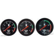 Kit Opala Ss Pressão Óleo Combustível Turbo Cronomac + Led