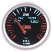 Auto Gauge Temperatura Oleo 52mm Serie Smoke