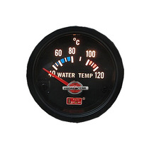 Auto Gauge Temperatura De Agua 52mm C/ Sensor Black Serie
