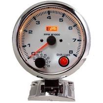 Auto Gauge Conta-giros 95mm 3 3/4 C/ Shift Light Interno