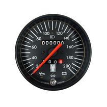 Cronomac Ss 100mm - Velocímetro 200km/h