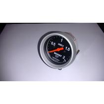 Manômetro Cronomac Sport 60mm Turbo 2kg