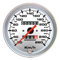 Velocímetro 100mm Racing 260km/h 2 Hod Fusca Buggy Kombi
