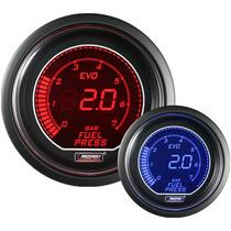 Pressão De Combustivel 52mm (c/ Sensor Elétrico) Prosport Ev