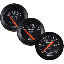 Kit Instrumentos Relógio 52 Willtec Temperatura Água Bateria