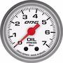 Kit Manômetros Drag Oil 7, Fuel 7 E Boost 2 Bar 52 Mm