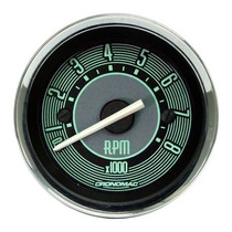 Contagiros Rpm 52mm 4 Cil. Vw Fusca Verde - Cronomac