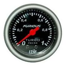 Pressão Do Turbo 2k Racing 52mm + Kit Instalação Mangueira