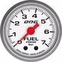 Manômetro Odg Drag Fuel 7 Bar 52 Mm
