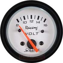 Voltímetro Willtec Plusbr 52mm Instrumento + Led Neon Tuning