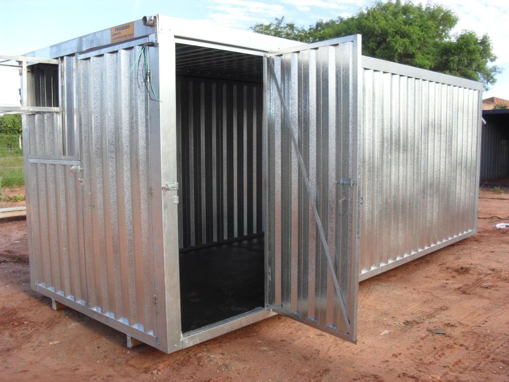 Container Escritorio Com Banheiro R$ 12.780 00 no MercadoLivre #865B45 1024x768 Banheiro De Container