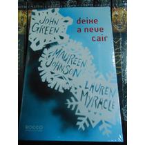 Livro Deixe A Neve Cair John Green Novo Lacrado