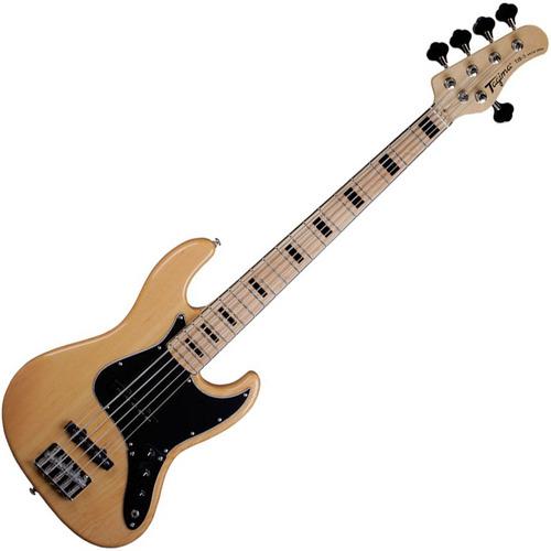 Contrabaixo Tagima Tjb5 Jazz Bass Natural 5 Cordas Passivo