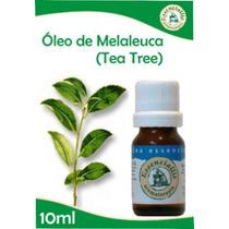 Kit Com 02 Óleos Essenciais: 01 De Tea Tree E 01 De Lavanda