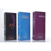 Kit 05 Perfumes 55ml Com Registro Anvisa E Nota Fiscal