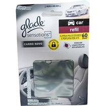 Caixa De Refil Glade Sensations Carro Nv 7ml